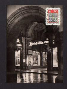 Maximumkarten DDR 1962 914 Leipziger Herbstmesse Eingang zu Auerbachs Kel