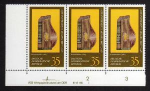 DDR 1977 2227 DV ** FN I Konzertzither Musikinstrumente aus dem Vogtland