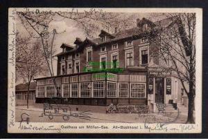Ansichtskarte Alt Buchhorst bei Grünheide Mark Tel. Erkner Gasthaus am Möllen See