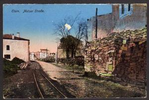 Ansichtskarte Étain Etain Metzer Straße Lothringen