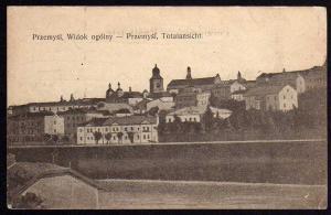 Ansichtskarte Przemysl Widok ogolny Totalansicht 1915 Feldpost Nr. 155