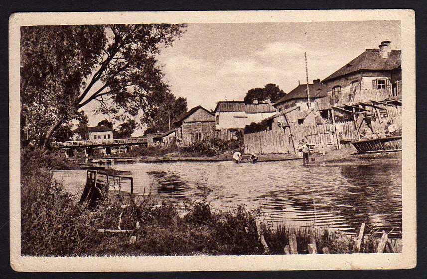 Ansichtskarte Kowel Ukraine ?????? An der Turya Feldpost 1918