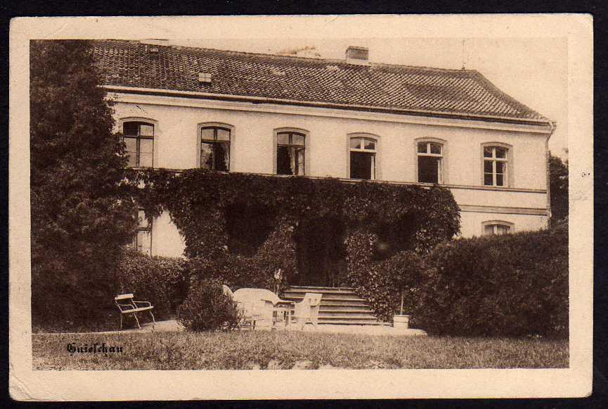 Ansichtskarte Gnieschau 1917 Post Narkau Dirschau Bromberg
