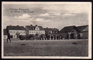 Ansichtskarte Mariampol Litauen Marijampole um 1915 Östliches Kriegsbild Markt