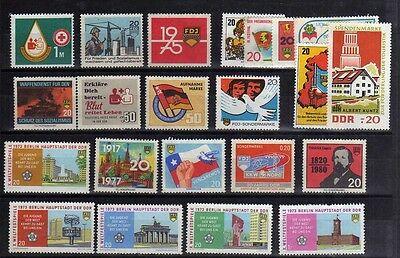 22 DDR Vignette Spendenmarke 1973 Berlin Rotes Kreuz FDJ DHJ Militär