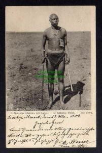 Ansichtskarte Deutsch Südwestafrika DSW 1904 Swakopmund Basuto Policeman