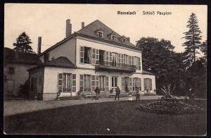 Ansichtskarte Remilly Remelach Lothringen 1916 Schloß Peupion Feldpost