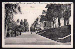 Ansichtskarte Reval 1916 Tallinn Offizier Wache Estland
