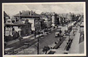 Ansichtskarte Belgrade Rue Miloche le Grand 1941 Belgrad ??????? Beograd Serbien