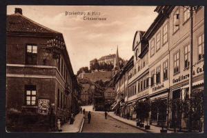 Ansichtskarte Blankenburg am Harz Tränkestrasse Conditorei Cafe um 1930
