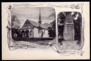 Ansichtskarte Sempach Schlacht Kapelle Winkelried Sursee Kanton Luzern 1908