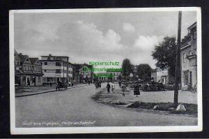 Ansichtskarte Pagegiai Pogegen Litauen Partie am Bahnhof um 1935