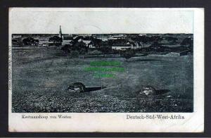 Ansichtskarte DSW Deutsch Südwestafrika 1906 Keetmashoop Feldpost