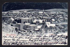 Ansichtskarte Hirschberg im Riesengebirge Winterbild 1900