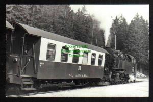 Ansichtskarte Lok Zug Waggon Schmalspurbahn DDR 1986