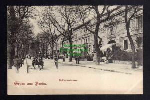 Ansichtskarte Berlin Bellevuestrasse Allee um 1900