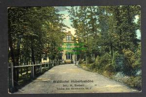 Ansichtskarte Oschersleben 1913 Waldhotel Hubertushöhe