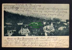 Ansichtskarte Bad Freienwalde Oder 1899 Villen