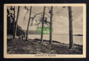Ansichtskarte Granzin 1933 Landschaft am Pagel See