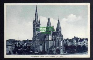 Ansichtskarte Olsztyn Allenstein Herz Jesu Kirche um 1920