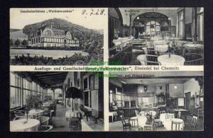 Ansichtskarte Einsiedel bei Chemnitz Ausflugs- und Gesellschaftshaus Waldesrauschen
