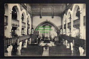 Ansichtskarte Kötzschenbroda 1920 Kirche Innenansicht