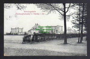 Ansichtskarte Teichwolframsdorf bei Werdau Erholungsheim 1928