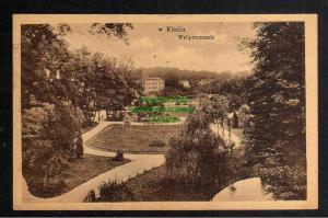 Ansichtskarte Koszalin Köslin 1919 Wallpromenade Park Altgriebnitz Alt Griebnitz