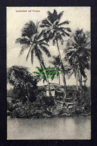 Ansichtskarte Karolinen Landschaft auf Ponape um 1910
