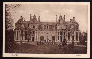 Ansichtskarte Neuflize Schloß Vollbild 1916 Feldpost