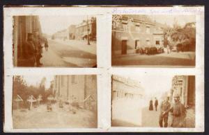 Ansichtskarte Militär Eisenbahndirektion 1 Feldpost Station Friedhof Soldaten Postaus