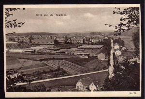 Ansichtskarte St. Avold Niedeck Lothringen 1914 Feldpost