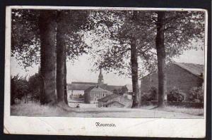 Ansichtskarte Rouvrois 1915 Feldpost Station 100