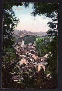 Ansichtskarte Bad Aussee Steiermark 1906 Bahnpost