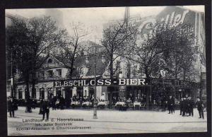 Ansichtskarte Hamburg 1913 Landhaus Heerstrasse Elbschloss