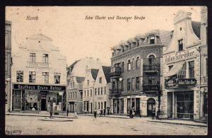 Ansichtskarte Konitz Wpr. Kaufhaus Balzer Restaurant 1911 Geschäft Julius Schreiber