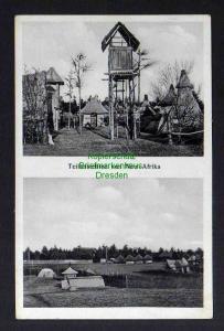Ansichtskarte Neu Afrika bei Ahrensdorf Post Templin 1937