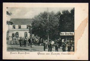 Ansichtskarte Rewahl Rewal Heuers Strand Hotel 1905