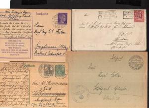 v223 Heimatsammlung Hermsdorf Reg. Bez. Liegnitz Schlesien 1869 - 1943 Feldpost