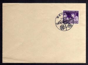 B1173 Deutsches Reich 811 FDC SST Tag der Briefmarke Berlin 11.1.42