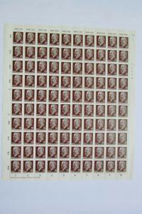 DDR 1963 Bogen Ulbricht 70 Pf. Mi. 938 Z XI  ** mit Druckvermerk DV ohne DKZ