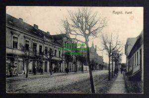 Ansichtskarte Neman ????? Ragnit Markt 1915 Feldpost Tilsit