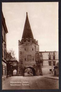 Ansichtskarte Münsterberg i, Schlesien Patschkauer Turm