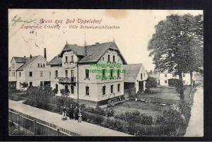 Ansichtskarte Bad Oppelsdorf Logirhaus Erholung Villa Schweizerschlösschen 1908