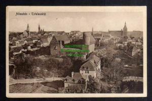 Ansichtskarte Allenstein Olsztyn Ostpreußen um 1915 Totalansicht