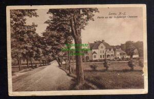 Ansichtskarte Sorau Niederlausitz 1917 Partie an der Grünberger Chaussee
