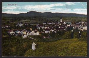 Ansichtskarte Sulz O.-Els. 1917