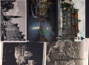 5 Ansichtskarte Danzig Das grüne Tor Brücke 1911 Müttergewerkshaus Langer Markt