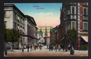 Ansichtskarte Ratibor Schlesien Neue Straße Cafe um 1915