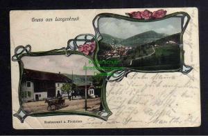 Ansichtskarte Langenbruck Kantons Basel-Landschaft Restaurant zum Frohsinn 1906